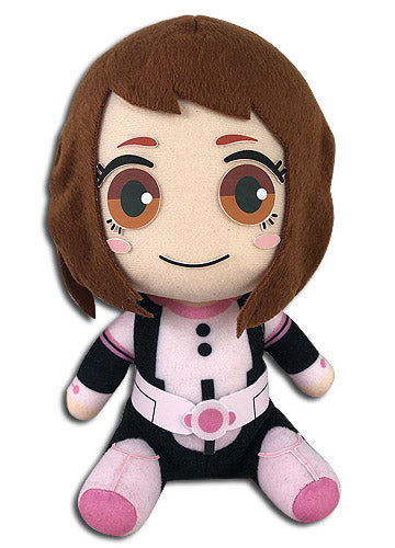 "My Hero Academia Ochaco Hero Costume 8"" Sitting Plush Doll"