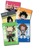 My Hero Academia SD Group Poker Playing Cards