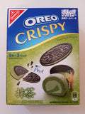 Nabisco Oreo Crispy Matcha Roll Cake Cookies 5.4 oz Back