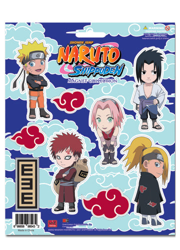 Naruto Shippuden Character Magnet Collection