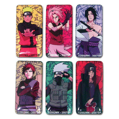 Naruto Shippuden Characters Magnet Set