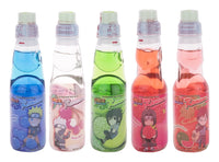 Naruto Ramune Soda 5 Pack Variety (Set of 5)