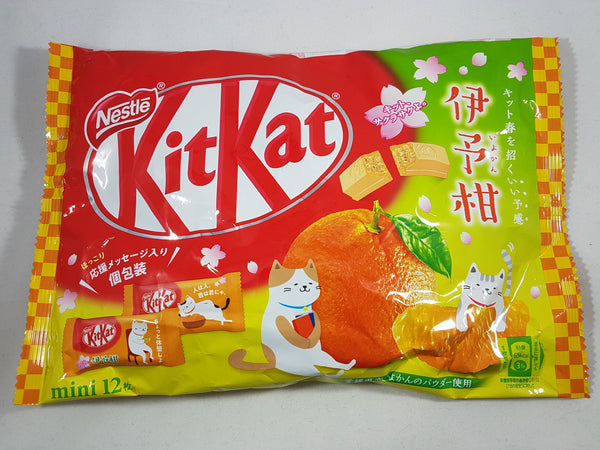 Nestle Japanese Kit Kat Iyokan Citrus Flavor Limited Edition