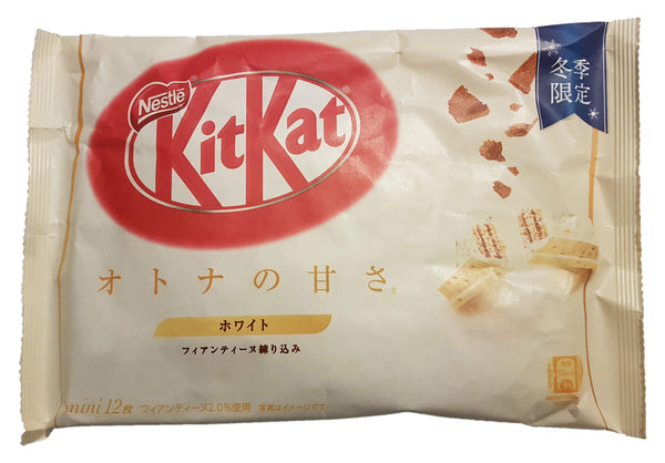Nestle Japanese Kit Kat White Chocolate Winter Limited Edition