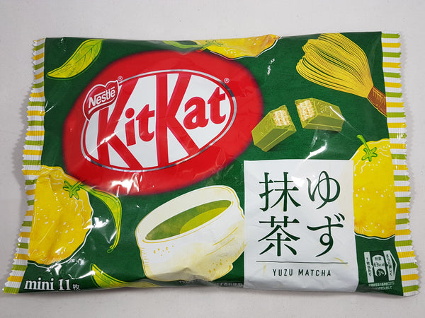 Nestle Japanese Kit Kat Yuzu Matcha Flavor Limited Edition