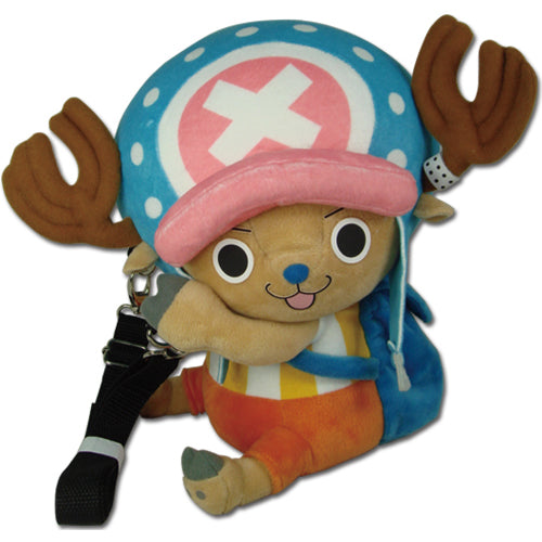 One Piece Chopper Plush Backpack Bag