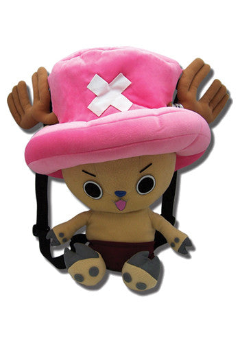 One Piece Tony Tony Chopper Plush Backpack Bag