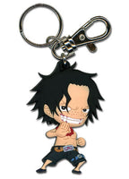 One Piece Portgas D. Ace SD PVC Key Chain