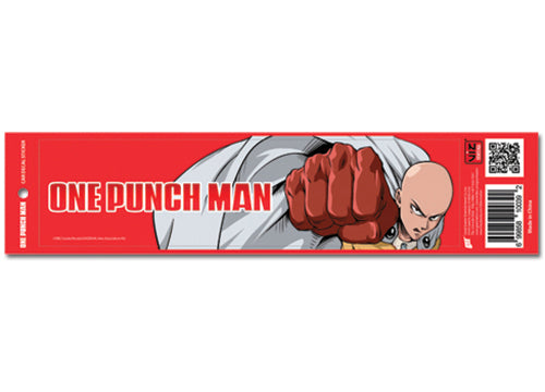 One Punch Man Red Auto Car Decal Bumper Sticker