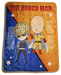 One Punch Man Saitama & Genos Throw Blanket