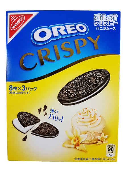 Oreo Crispy Vanilla Chocolate Cookies 5.4 oz