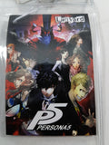 Persona 5 Group Lanyard W/ ID Badge Holder Close Up