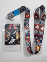 Persona 5 Group Lanyard W/ ID Badge Holder