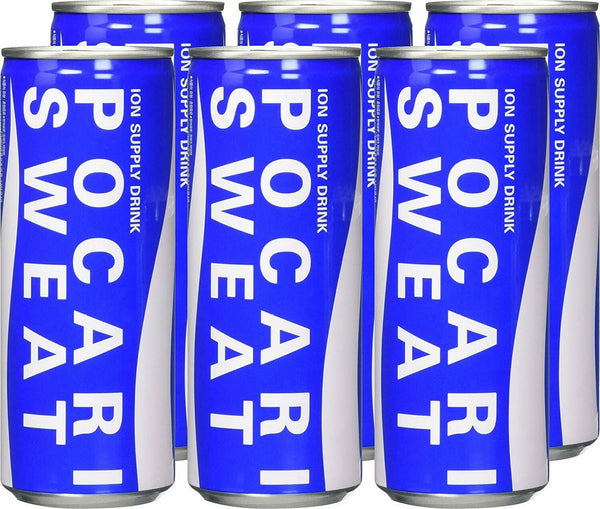 Pocari Sweat Ion Supply Sports Drink 6 Pack