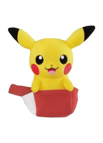 Pokemon Pikachu In Ash Hat Plush Doll Shadow Anime