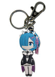 Re:Zero Rem SD PVC Key Chain