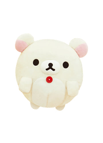 "Rilakkuma 10"" Korilakkuma Bear Ball Plush Shadow Anime"