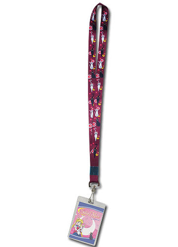 Sailor Moon Artemis & Luna Lanyard W/ ID Badge Holder