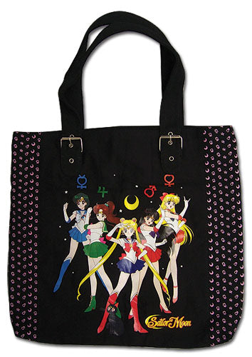 Sailor Moon Guardians Soldiers Tote Bag Stock