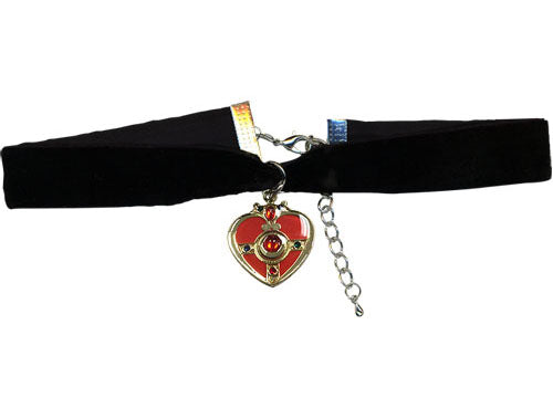 Sailor Moon S Cosmic Heart Velvet Choker Necklace