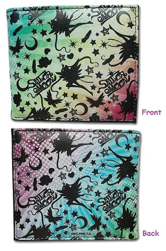 Sailor Moon Silhouettes Rainbow Bifold Wallet