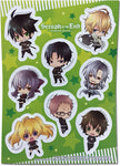 Seraph of The End Vampire Reign Sticker Set
