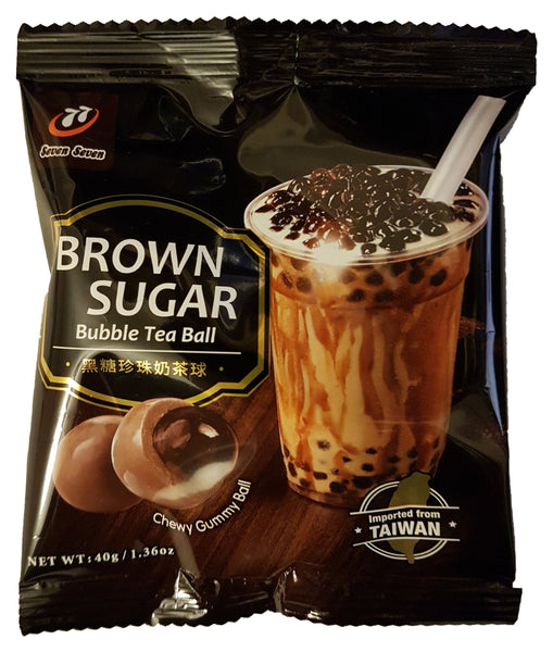 Seven Seven 77 Brown Sugar Bubble Milk Tea Balls