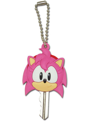 Sonic The Hedgehog Classic Amy Key Cap Keychain