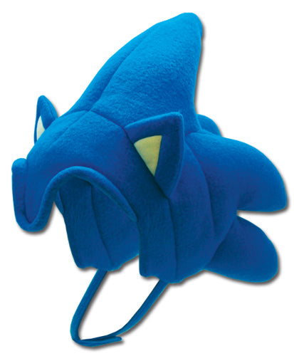 Sonic The Hedgehog Sonic Hair Plush Hat