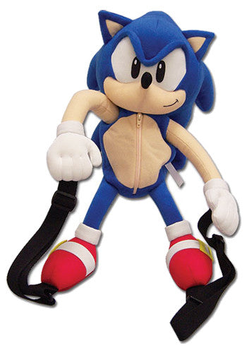 Sonic The Hedgehog Sonic Plush Backpack Bag