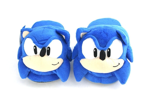 Sonic The Hedgehog - Sonic Plush Slippers Shadow Anime