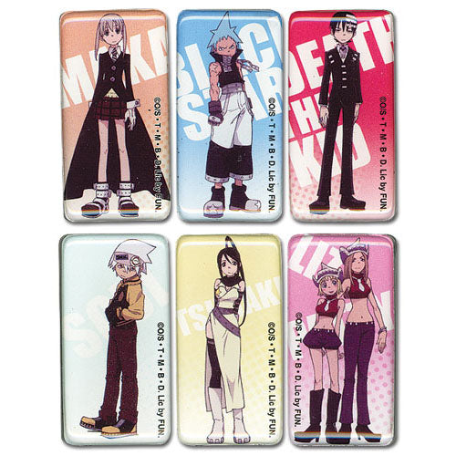 Soul Eater Characters Magnet Set