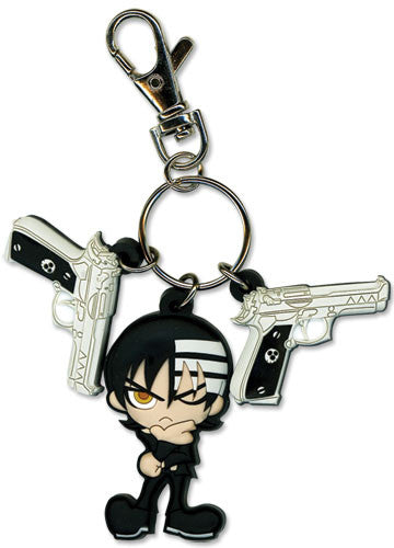 Soul Eater - Death The Kid & Guns Keychain Shadow Anime