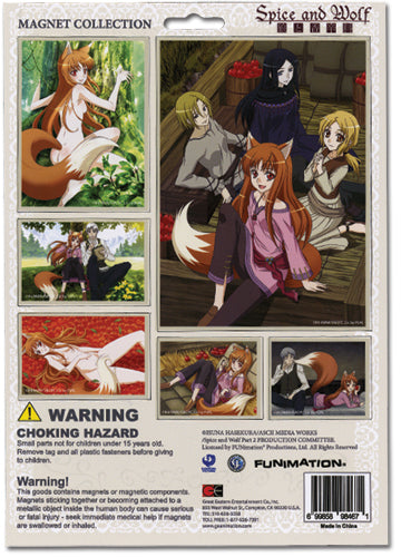 Spice & Wolf Magnet Collection