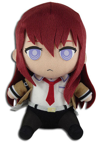 "Steins Gate Kurisu Makise 7"" Sitting Plush Doll"