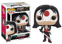 Suicide Squad Katana Funko POP Figure & Box Shadow Anime