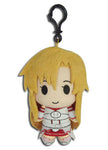 "Sword Art Online Asuna 5"" Plush Doll W/ Backpack Clip"