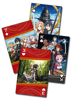Sword Art Online Group Poker Playing Cards