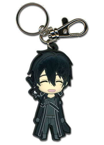 Sword Art Online Happy Kirito PVC Key Chain