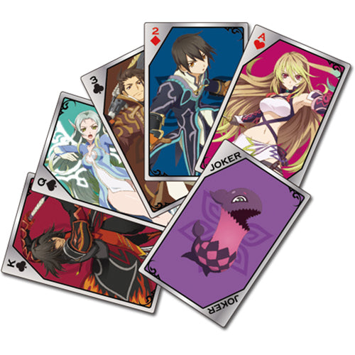 Tales of Xillia Characters Poker Playing Cards