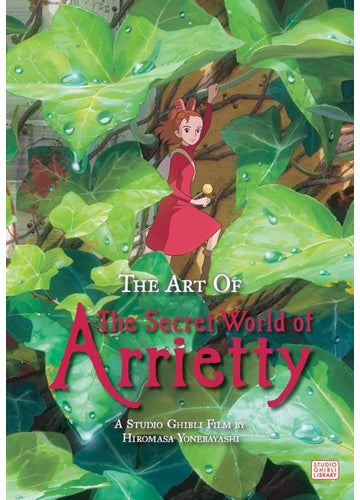 The Secret World of Arrietty Studio Ghibli Picture Book Shadow Anime