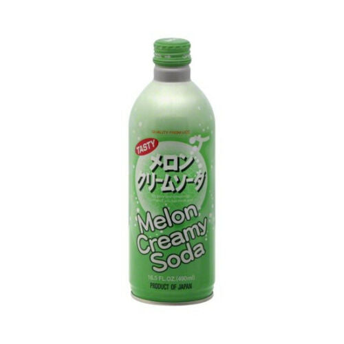 UCC Melon Creamy Soda 16.5 oz