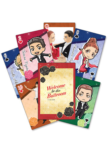 Welcome To The Ballroom Group Poker Playing Cards