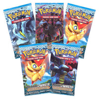 Pokemon Cards - B&W NOBLE VICTORIES - Booster Packs ( 5 Pack Lot ) Shadow Anime