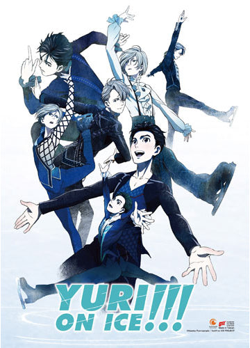 Yuri On Ice Key Art Wall Scroll