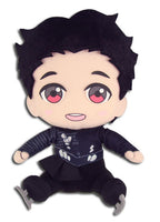 "Yuri On Ice Yuuri Katsuki 7"" W/ Dancing Clothes Sitting Plush Doll"