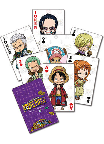 One Piece Group Poker Playing Cards
