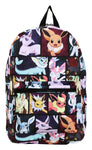 Pokemon Eevee Evolutions All Over Backpack