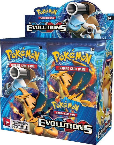 Pokemon XY Evolutions - 1/3 One Third Booster Box - 12 Packs