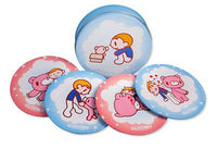 Gloomy Bear Memories Tin Coasters Set of 4